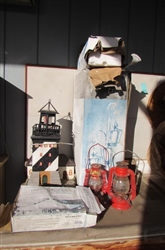 OUTDOOR DECORATIONS LIGHTHOUSE LANTERNS