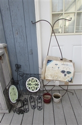 WROUGHT IRON OUTDOOR WALL DECORATIONS AND MORE
