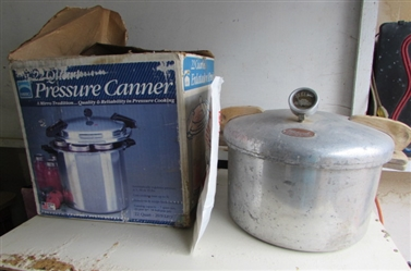2 PRESSURE CANNERS