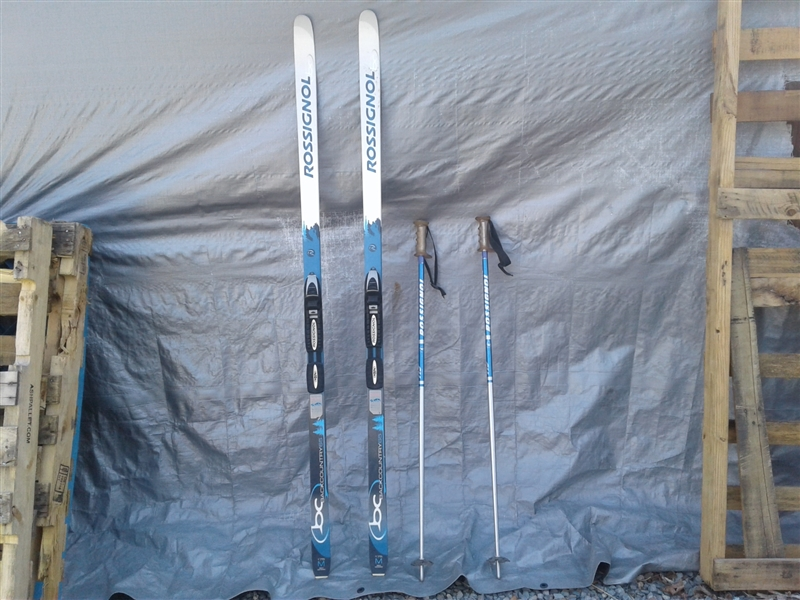 Rossignol Skies and Poles
