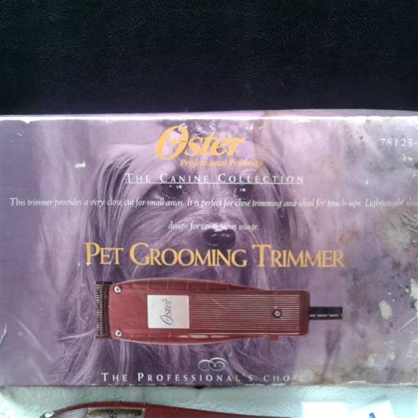 Oster Pet Grooming Trimmer
