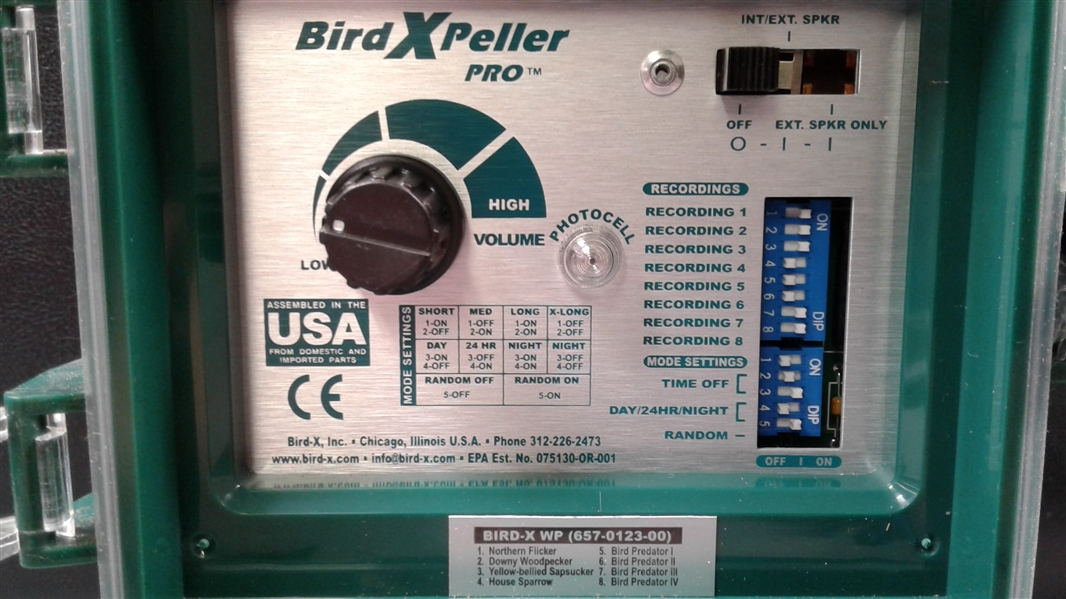 Bird Xpeller Pro Electronic Bird Repeller