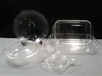Pyrex & Fire King Baking Dishes