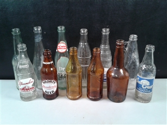 Antique/Vintage Local Soda Bottles Sun Crest, Meambers (Yreka, Mt. Shasta & Klamath Falls) & More
