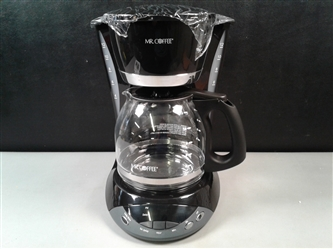 New- Mr. Coffee 12 Cup Programmable Coffeemaker