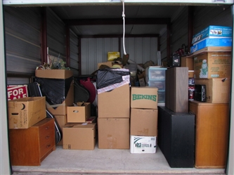 ENTIRE CONTENTS OF STORAGE LOCKER - LOCATED IN YREKA
